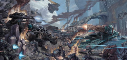 Planetfall Cover Art. Image copyright Spartan Games, used with permission.