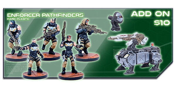 Deadzone Pathfinders Kickstarter Add-On. Image Copyright Mantic Entertainment LLC