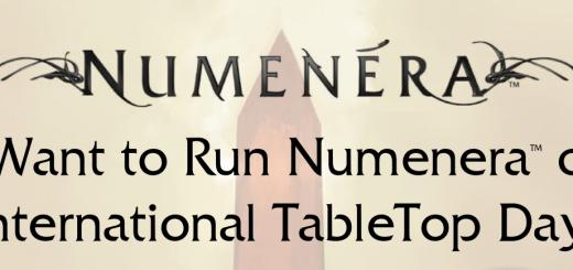 International Tabletop Day Numenera 2015