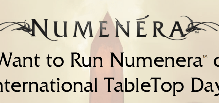 International Tabletop Day Numenera 2015