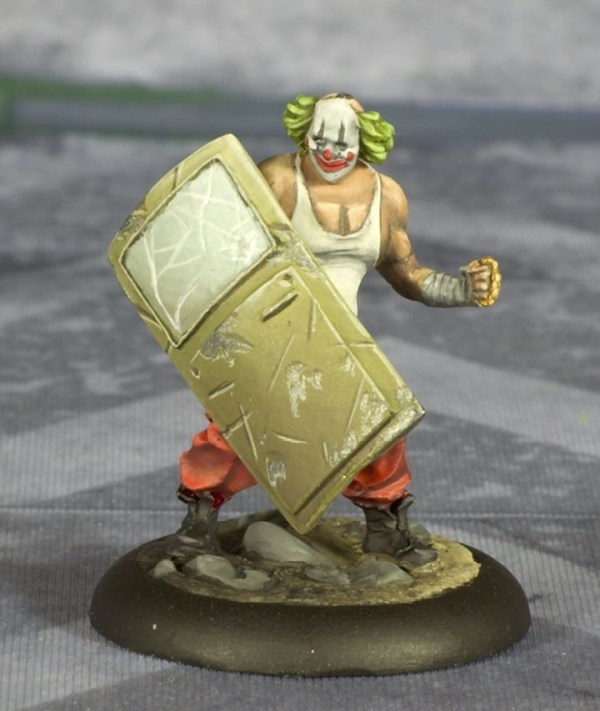 Batman Miniature Game Shield Clown