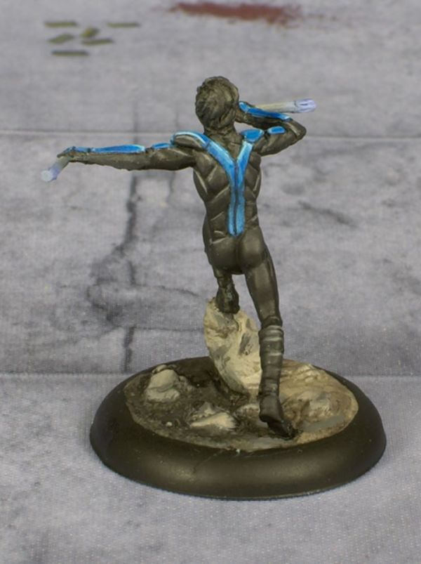 Knight Models Nightwing painted by Tyler Provick