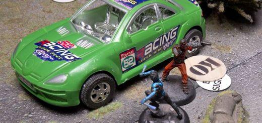 Batman Miniature Game Nightwing vs. Goon