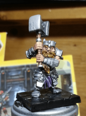 Dungeon Saga Dwarf Hero