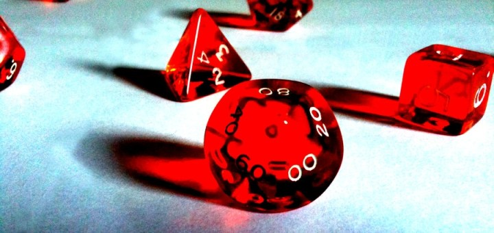 DND Dice by Zamanu.