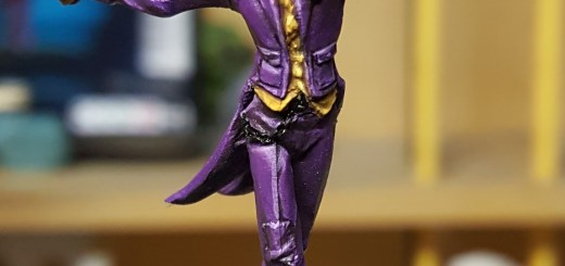 BMG Joker from Knight Models. Painted by Tyler Provick.
