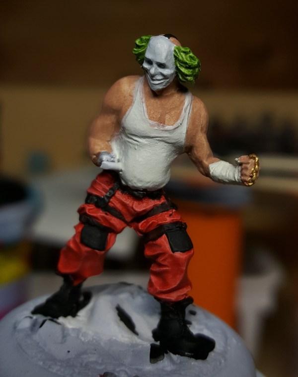 Batman Miniature Game Shield Clown Flatted