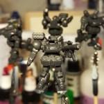 Heavy Gear Jagers Assembled