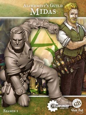 Guild Ball Midas. Copyright Steamforged Games Ltd.