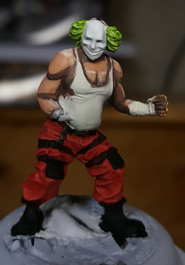 Batman Miniature Game Shield Clown Second Highlight