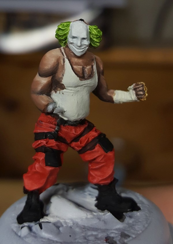 Batman Miniature Game Shield Clown Transitions