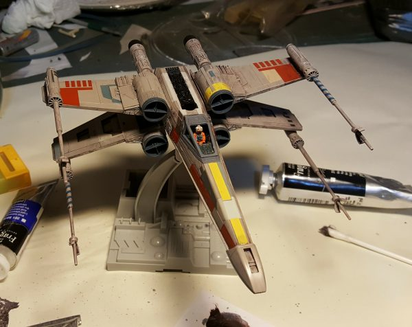 Bandai 1/72 X-Wing Fighter
