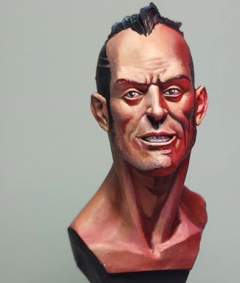 "Bust by Alfonso ""Banshee"" Giraldes"