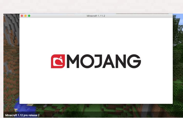 Smooth mojang logo