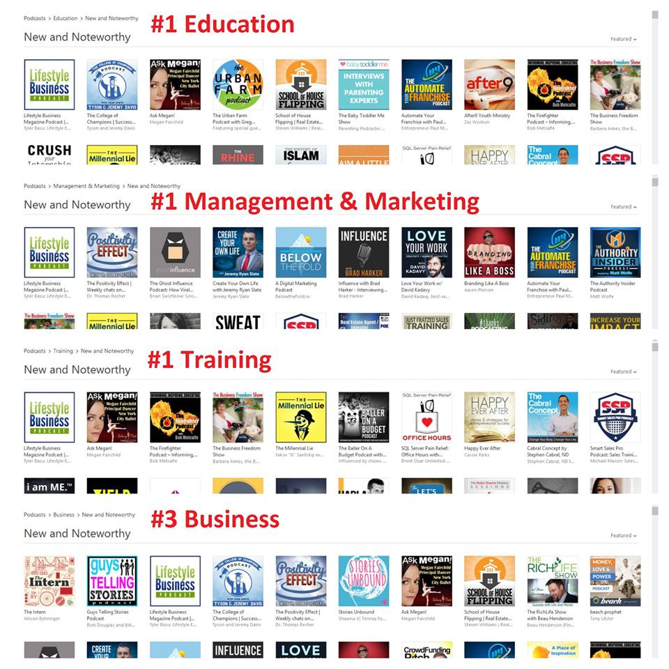 Lifestyle Business Magazine Podcast - iTunes New And Noteworthy US