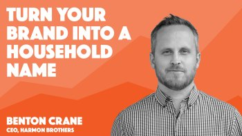 how to use video marketing to turn your brand into a household name video session cover art for benton crane