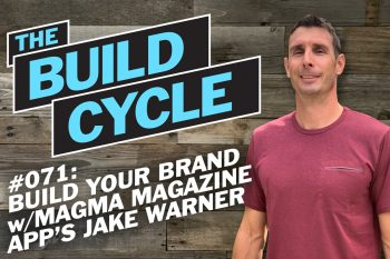 jake warner podcast interview about magma digital magazine creator app