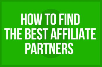 how to find good brand partners for your affiliate program