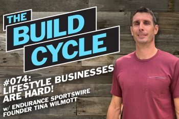 podcast interview with endurance sportswire founder tina wilmott cover art