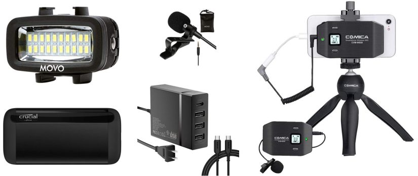 best video lights for iPhone video interviews and tour footage