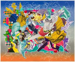Frank Stella 'Spectralia' 1995 from the 'Imaginary places' series 1994-97