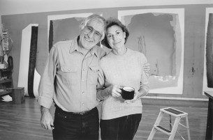 Helen Frankenthaler and Kenneth Tyler