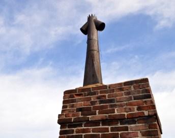 Chimney (detail)