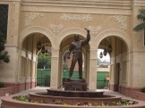 USC Fairbanks Statue