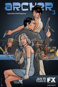 ARCHER Season 3 art