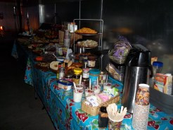 Craft Services table