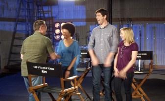 Hart Hanson meets hosts