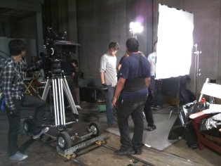Getting ready for another take