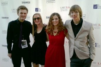 05 Tyler, Anna, Kristen & Mars on the Red Carpet