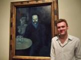 10 Portrait of Sebastian Juñer Vidal by Pablo Picasso (1903)