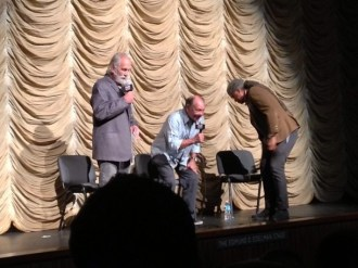 03 Tommy Chong, Cheech Marin and Elvis at LACMA