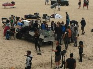 22 Ride Filming with Helen Hunt & Luke Wilson