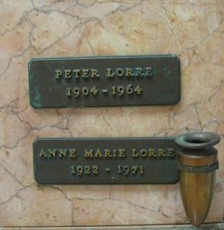 22 Peter Lorre Plaque