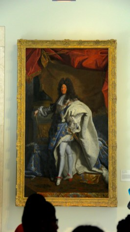 21 Portrait of Louis XIV from the Workshop of Hyacinthe Rigaud