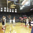 09 Kelsey Plum Sinks a Free Throw