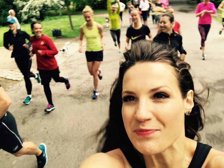 kobiece bieganie
