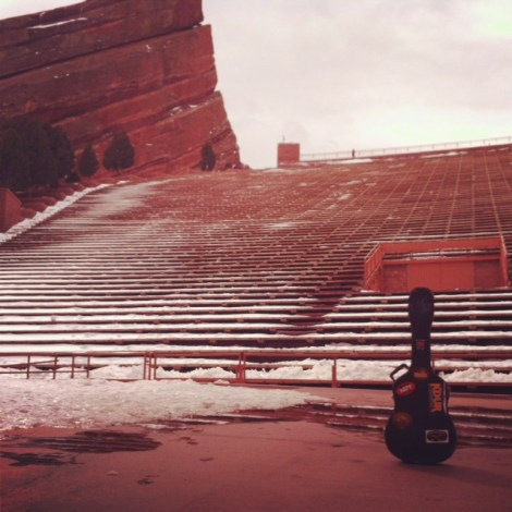 My guitar would really like to play Red Rocks someday : )