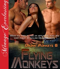 #TimeMachineDiscount – Get Flying Monkeys (Drunk Monkeys 6) for only .99!