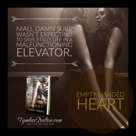 Now Available: Empty-Handed Heart (Suncoast Society)