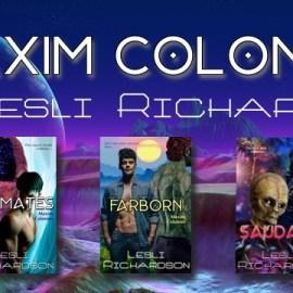 Maxim Colonies series banner