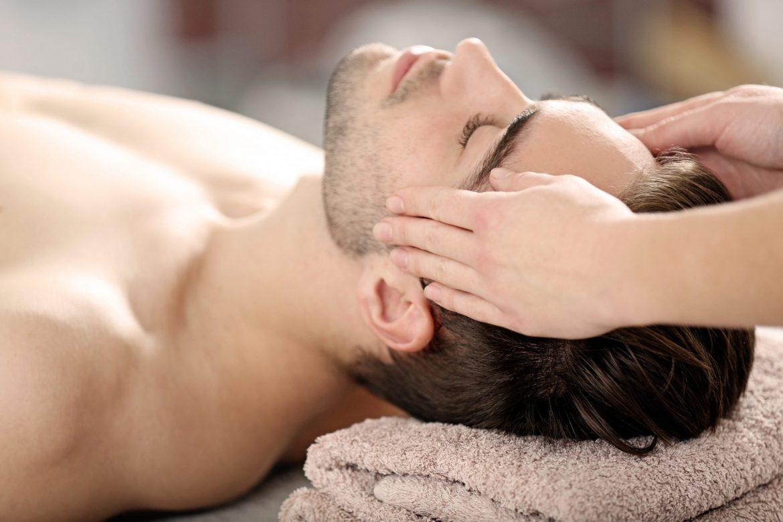 Facial Massage Male