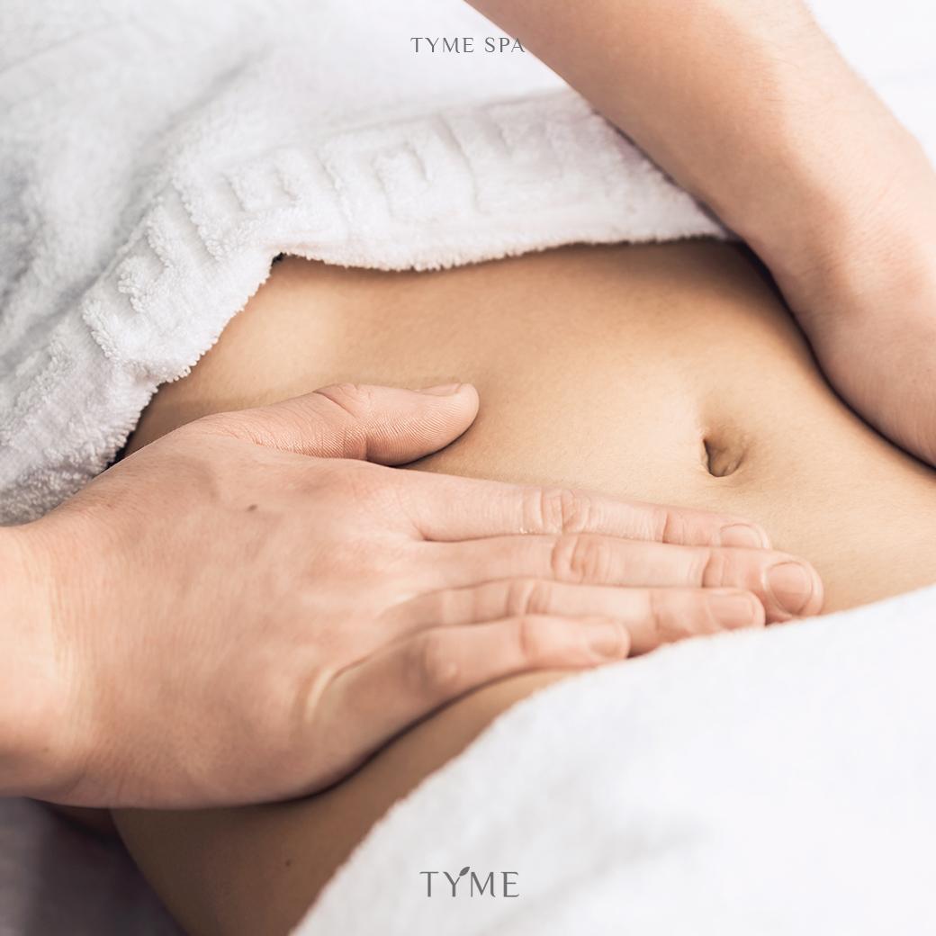 Massage helps Digestion