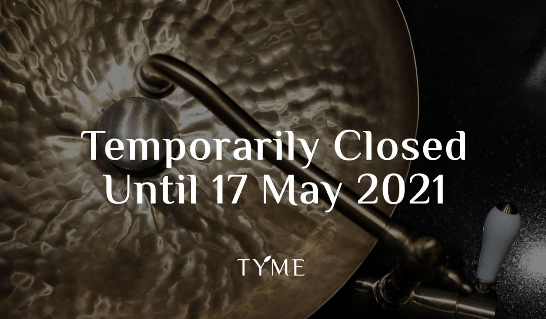 Tyme Spa Temp Closed