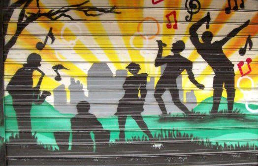 TYMO Arts music mural