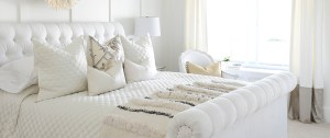 White Bedroom with Mattress