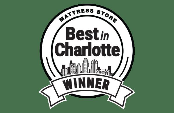 WINNER of Best Mattress Store in Charlotte
